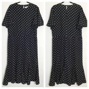 Vintage Petrina and Company Polka Dot Dress